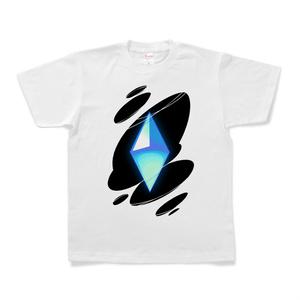 フォースコアTシャツ(シアン/マゼンタ)