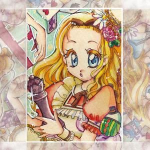 ★ATCミニ原画 鏡の国のアリス