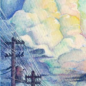 ☆ATCミニ原画 あの雲