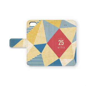 手帳型25iPhoneケース
