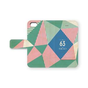 手帳型63iPhoneケース