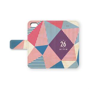 手帳型26iPhoneケース