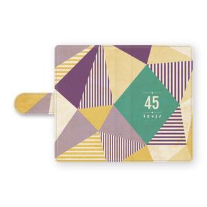 手帳型45Androidケース