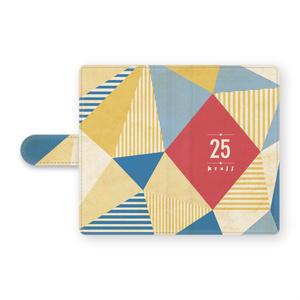 手帳型25Androidケース
