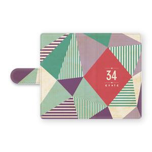 手帳型34Androidケース