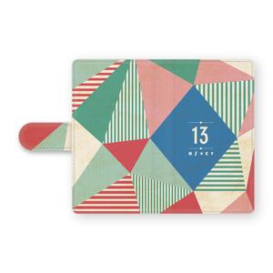 手帳型13Androidケース