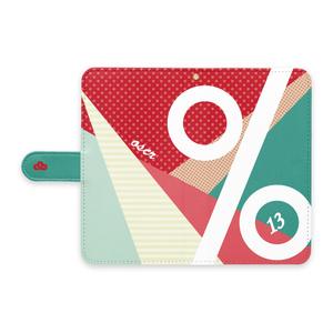 13手帳型Androidケース