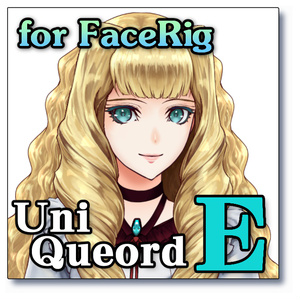 "UniQueord - "" E ""(for FaceRig)"
