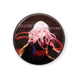EGOIST*いのり缶バッジ【black】