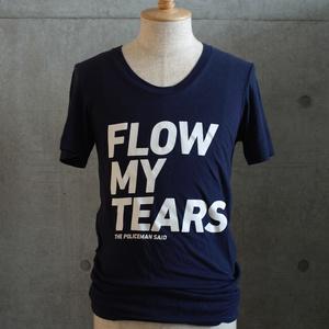 【完売】「流れよわが涙、と警官は言った」ルーズクルーTシャツ (Navy)