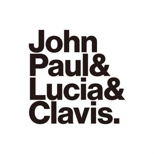 「ジョン・ポール&ルツィア&クラヴィス.」T シャツ (Orange)