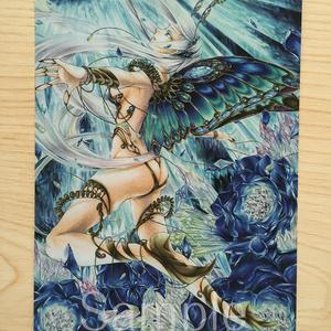 ポストカード4種類「虹色宝石箱」