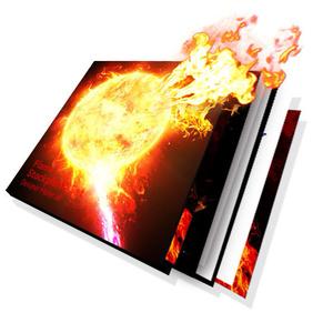 炎のエフェクト素材セット【PNG 100種類】