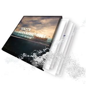 水しぶき 透過素材セット【PNG 100種類】