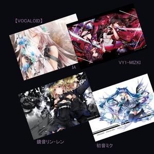 【CC福岡39】ポストカードセット(6種)