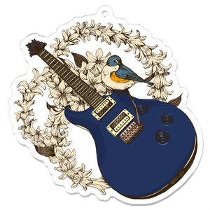 ギターアクリルキーホルダー