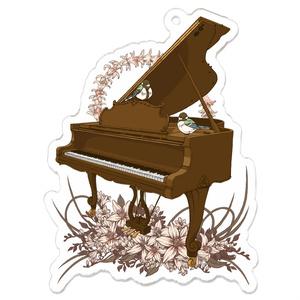 ピアノアクリルキーホルダー