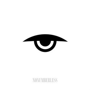 Adobe Illustrator aiファイル NONUMBERLESS EVIL EYE ICON - 2015
