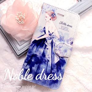 《受注生産》手帳型★iPhoneケース【Noble dress】
