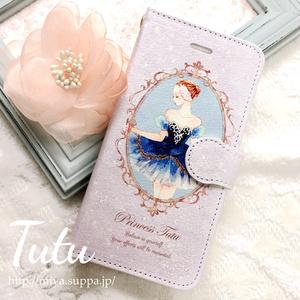 《受注生産》手帳型★iPhone6/6sケース【Tutu】