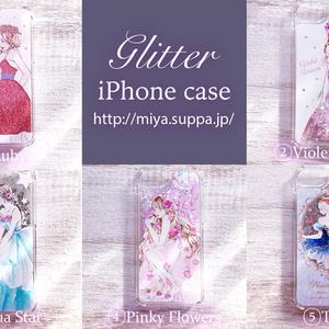 《受注生産》グリッターiPhone6/6s/7ケース