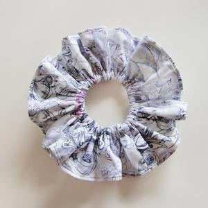 シュシュ(Original Cloth【gray+lace】)