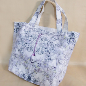トートバッグ(Original Cloth【gray+lace】)