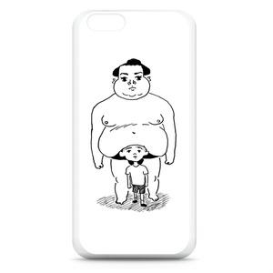 「たぷの里と少年」iPhoneケース