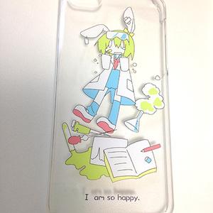 iPhone5/5s/SE/5cケース うさぎ