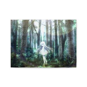 【キャンバスパネル】銀色は樹海にたゆたう
