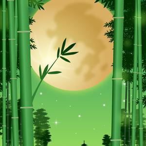 A4イラスト120 竹音静月(たけのねしづき)