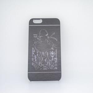 iPhone6/6sメタルケース十六夜咲夜 黒・金