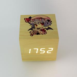 木目調アラーム時計 レミリア