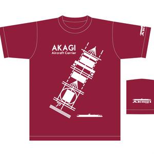 艦これ 赤城 飛行甲板デザインTシャツ(送料込)