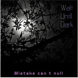 Wait Until Dark〜Mistake can't null〜