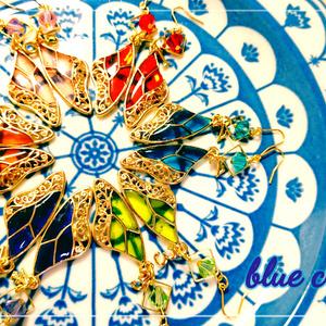 【おそ松さん】羽ひとひらピアス【イメージアクセ】