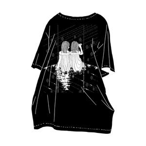 鏡の双子T-shirt