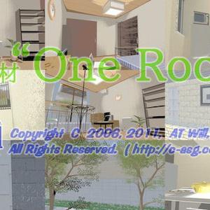"背景素材 ""One Room"""