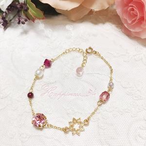 ~classical Rose bracelet~エレガントチェーンブレスレット