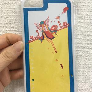 お花とミクちゃんのiPhone6 ケース