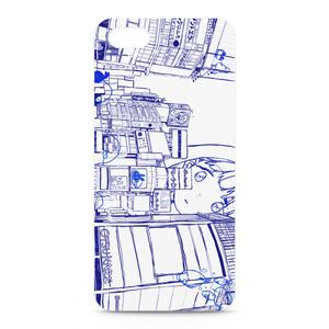 水色照明 iPhone5/5S/SE ケース