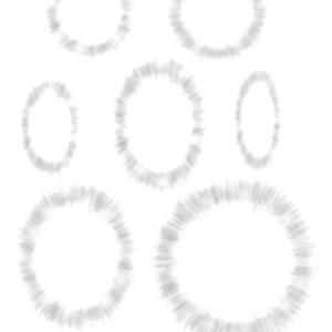 総人気3位:デジタル用トーン全38種(ComicStudio・CLIPSTUDIOPAINT・PSD・PNG)【漫博堂オリジナルトーン】