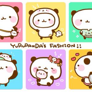 ゆるぱんだファッション♡ポストカード