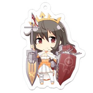 [戦艦少女R]クイーン・エリザベス SDアクリルキーホルダー