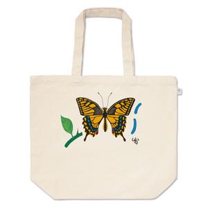 アゲハチョウのトートバッグ