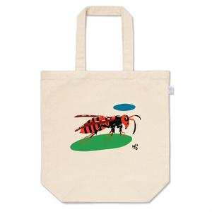 スズメバチのトートバッグ