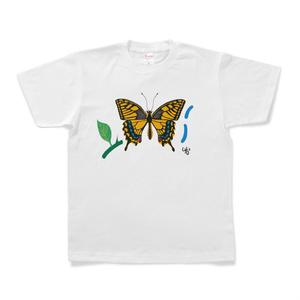 アゲハチョウのTシャツ