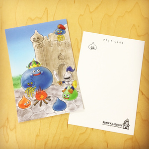 ドラゴンクエスト30周年記念 スライムポストカード