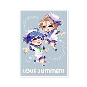 LOVE SUMMER!ステッカー