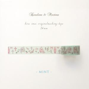 マスキングテープ[Karolina & Martina]ミント